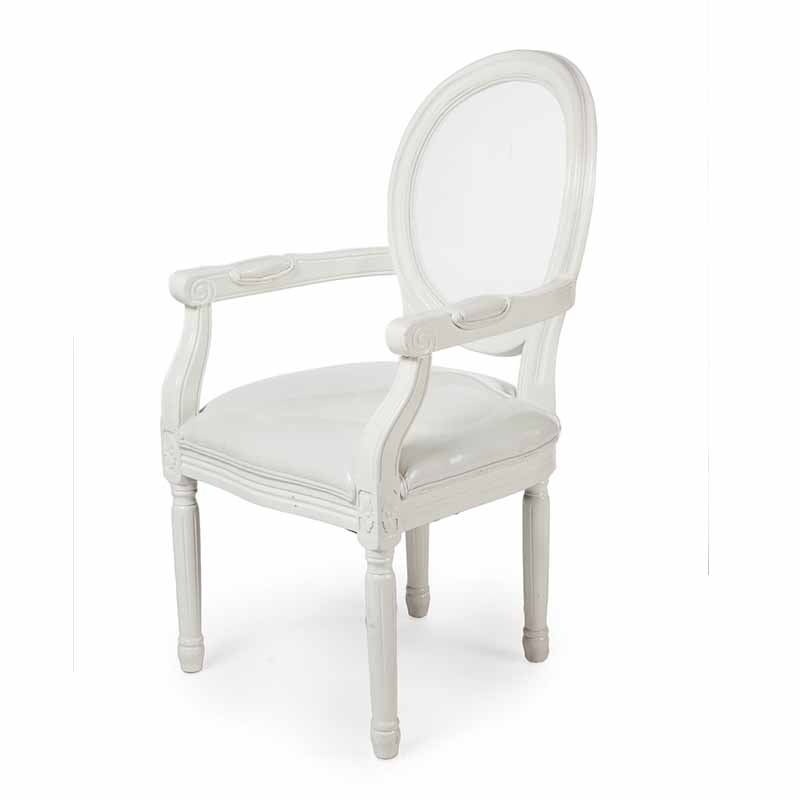 Clear Back Alice Arm Chair