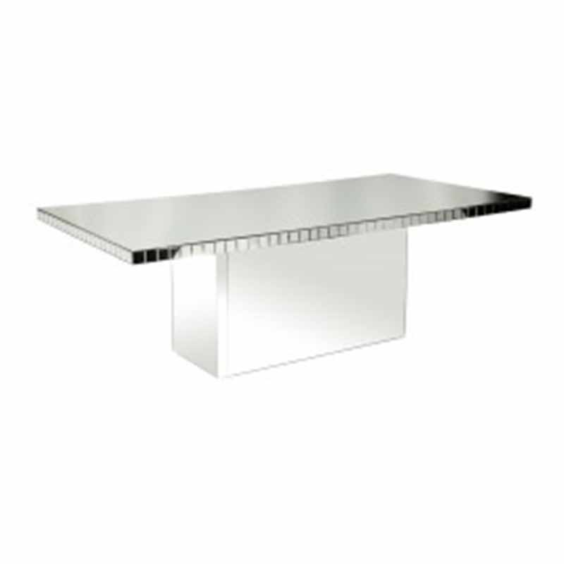 Chloe Dining Table Silver