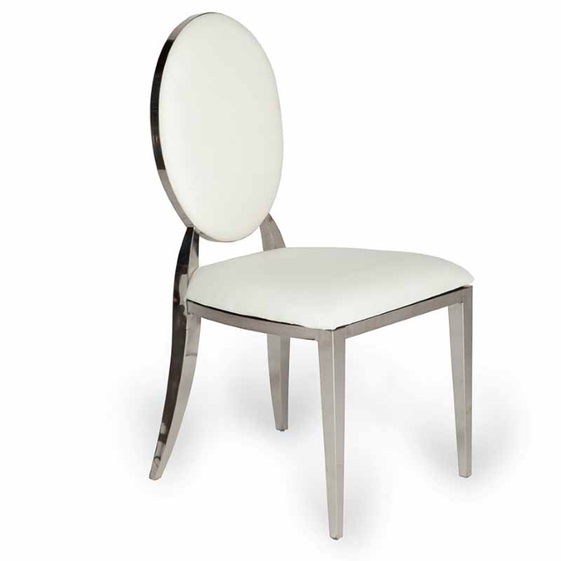 Beford Dining Chair Silver