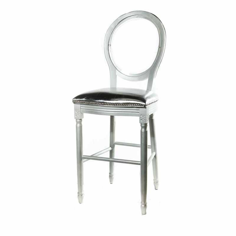 Clear Back Alice Pop Stool